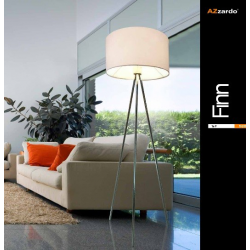 FINN FL-12025 BLACK LAMPA PODŁOGOWA AZZRADO