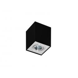 ELOY 1 GM4106 LAMPA NATYNKOWA AZZARDO ALUMINIUM/CZARNY