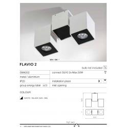 FLAVIO2 GM4202 LAMPA NATYNKOWA AZZARDO AZ0792
