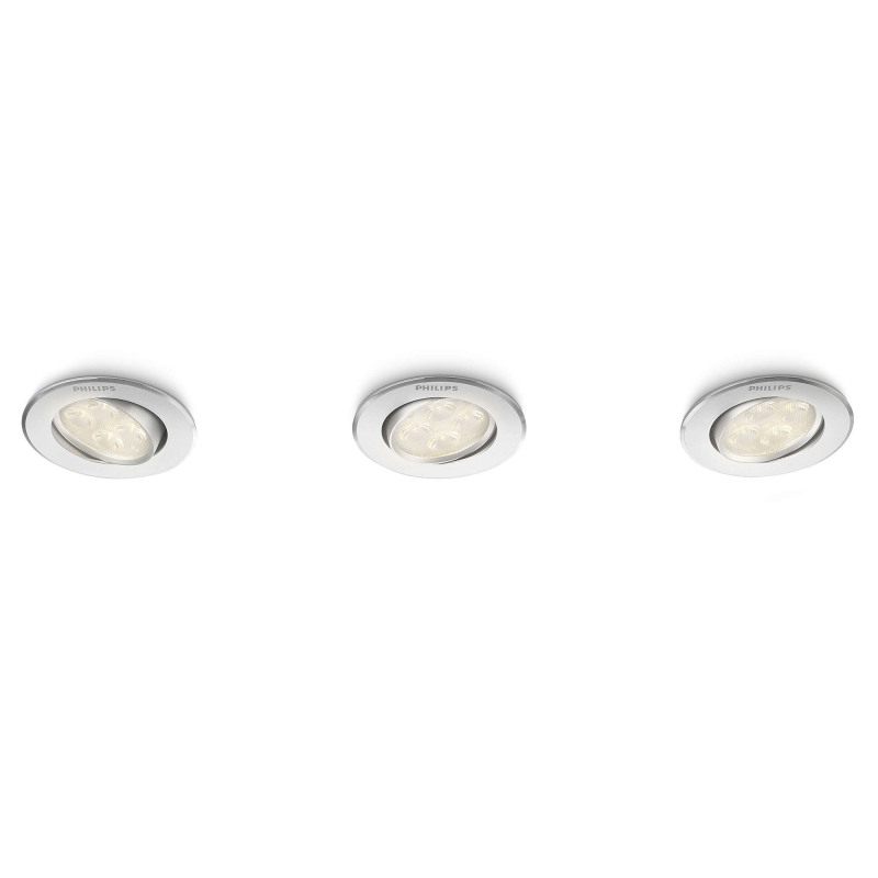 ALBIREO 4000K 45091/48/16 KOMPLET OPRAW WPUSZCZANYCH LED PHILIPS