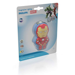 MARVEL IRON MAN 71767/35/16 LATARKA LED PHILIPS