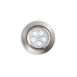 DELTA FI5 060934 NIKIEL LAMPA WPUSZCZANA LED IDEAL LUX