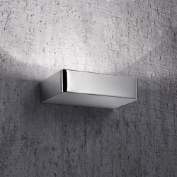 BRICK AP2 ARGENTO 120058 KINKIET IDEAL LUX