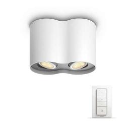 lampa nowoczesna ledowa PILLAR HUE 56332/31/P7 5633231P7LAMPA SUFITOWA PHILIPS Z PILOTEM