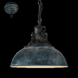 GRANTHAM 1 49753 LAMPA WISZĄCA VINTAGE EGLO