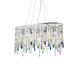 RAIN COLOR SP5 - LAMPA WISZĄCA 105277 IDEALLUX