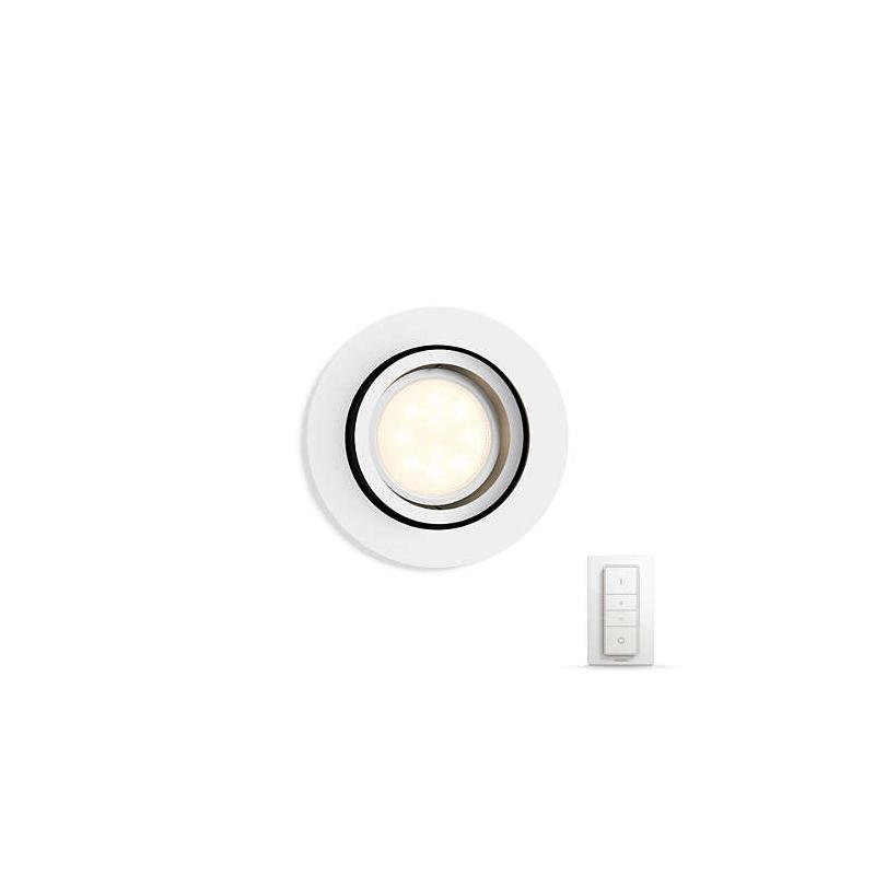 MILLISKIN OCZKO WPUSZCZANE LED HUE + PRZYCIEMNIACZ 50411/31/P7 PHILIPS