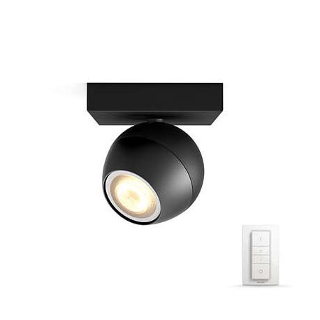 BUCKRAM 1L REFLEKTOR POJEDYŃCZY LED HUE + PRZYCIEMNIACZ 50471/30/P7 PHILIPS