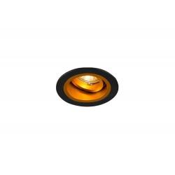 SPOT CHUCK DL ROUND 92702 (black/gold) ZUMA LINE
