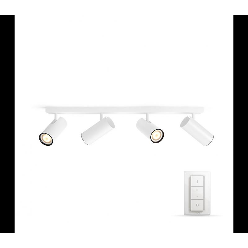 BURATTO 50464/31/P7 REFLEKTOR PODWÓJNY LED HUE + PRZYCIEMNIACZ PHILIPS