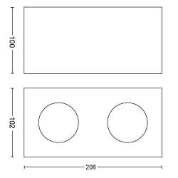 BOX 50492/31/P0 LAMPA OŚWIETLENIE PUNKTOWE PHILIPS