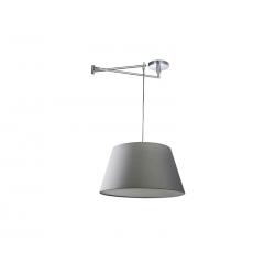 NATALIA S GREY MD2238-1S-GR LAMPA SUFITOWA PENDANT AZZARDO