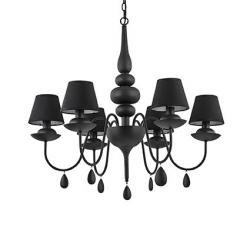 BLANCHE SP6 IDEAL LUX LAMPA WŁOSKA WISZĄCA 35581 -- rabat w koszyku -20% --