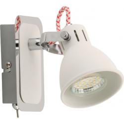 LAMPA WEWNĘTRZNA KINKIET RAVA SPOT TCK100008-1 ZUMA LINE
