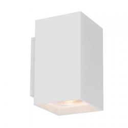 LAMPA WEWNĘTRZNA (KINKIET) ZUMA LINE SANDY WL SQUARE WALL 92697 WHITE