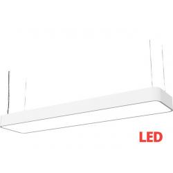 SOFT LED white 90x20 zwis 9544 lampa wisząca nowoczesna Nowodvorski Lighting