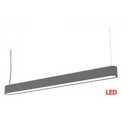 SOFT LED graphite 90x6 zwis 9546 lampa wisząca nowoczesna Nowodvorski Lighting