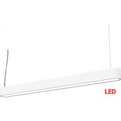 SOFT LED white 120x6 zwis 9547 lampa wisząca nowoczesna Nowodvorski Lighting