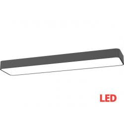 SOFT LED graphite 90x20 plafon 9531 Nowodvorski Lighting