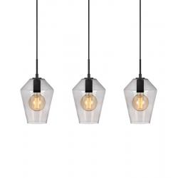 RETRO 107132 lampa Wisząca Czarny/Przydymiony MARKSLOJD