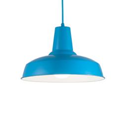 MOBY SP1 AZZURRO 160825 LAMPA WISZĄCA IDEAL LUX