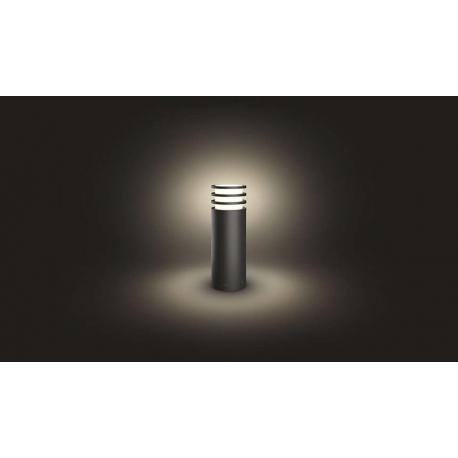 LUCCA 17402/93/P0 LAMPA OGRODOWA SŁUPEK PHILIPS HUE