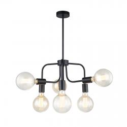 MELVO LAMPA WISZĄCA MDM-3691/6 GD+W ITALUX