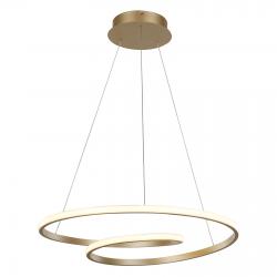 CAPITA MD17011011-1A GOLD LAMPA WISZĄCA ITALUX
