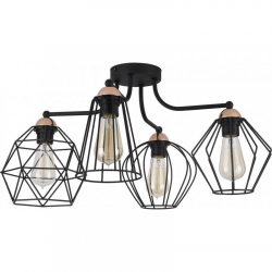 GALAXY 1645 LAMPA SUFITOWA VINTAGE TK-LIGHTING