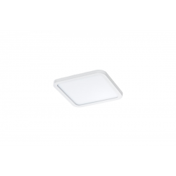 SLIM 15 SQUARE 3000K IP44 WHITE AZ2837 LAMPA SUFITOWA PLAFON LED AZZARDO