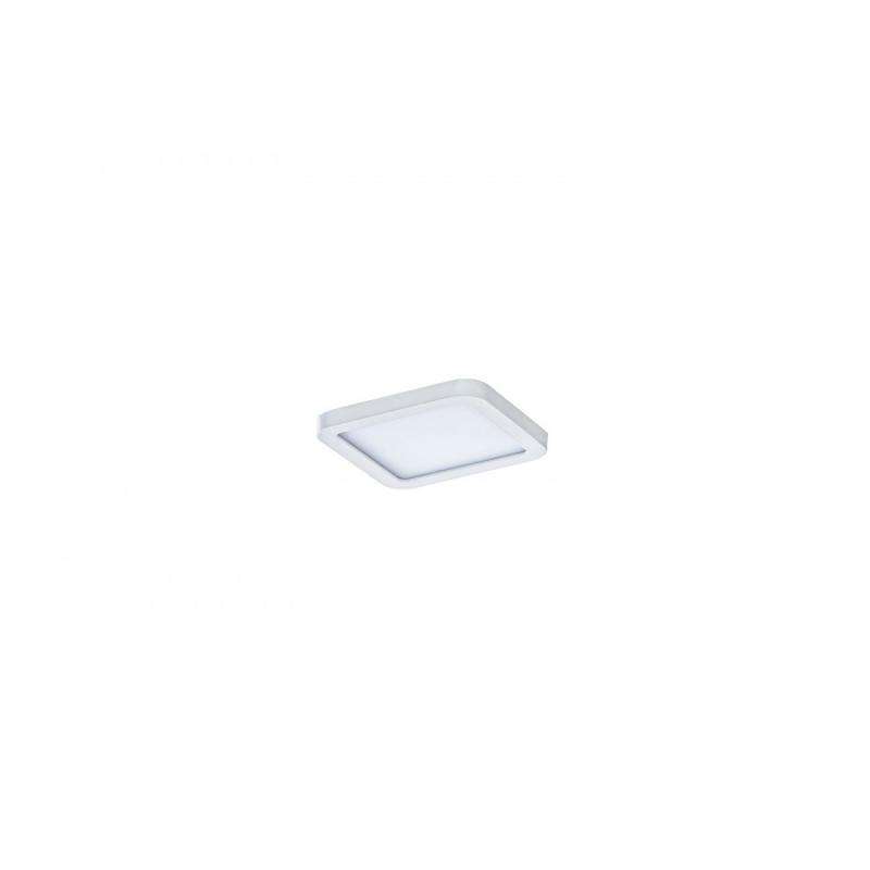 SLIM 9 SQUARE 3000K WHITE IP44 AZ2830 LAMPA SUFITOWA PLAFON LED AZZARDO
