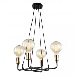 BETTY LAMPA WISZĄCA MDM-3901/4 BK+BRO ITALUX