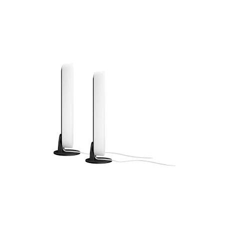 PLAY LAMPA BIURKOWA ZESTAW 2 SZTUK RGB BIAŁA + ZASILACZ 78202/31/P7 PHILIPS HUE