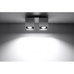 LAMPA NOWOCZESNA SOLLUX PLAFON QUAD 2 SL.0064