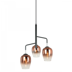 LESLA - LAMPA WISZĄCA  PEN-5359-3-BKCOP  ITALUX