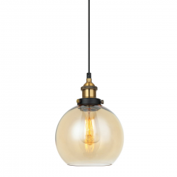 CARDENA  MDM-4330/1 GD+AMB  LAMPA WISZĄCA  ITALUX