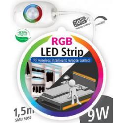 ZESTAW RGB TAŚMA LED 1,5m  Z CZUJKĄ RUCHU  LS503S  LUMAX