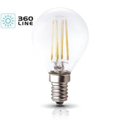 Żarówka LED E14 FMB 4W barwa 3000K 360 Line KOBI