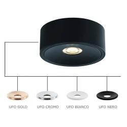 NEO NERO SLIM LED/UFO BIANCO LAMPA NATYNKOWA ORLICKI DESIGN