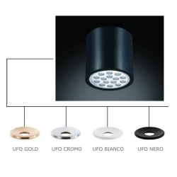 NEO CROMO NERO /UFO CROMO LAMPA NATYNKOWA ORLICKI DESIGN