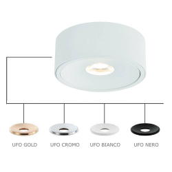 NEO BIANCO SLIM KG/UFO NERO LAMPA WPUSZCZANA ORLICKI DESIGN