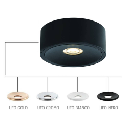 NEO NERO SLIM KG/UFO CROMO LAMPA WPUSZCZANA ORLICKI DESIGN