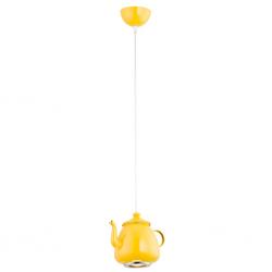 JAMAJKA  3651  LAMPA WISZĄCA - CZAJNICZEK - ŻÓŁTY  ARGON