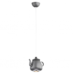 JAMAJKA  3653  LAMPA WISZĄCA - CZAJNICZEK - ANTRACYT  ARGON