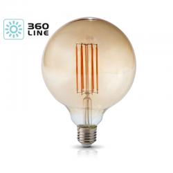 Żarówka LED FG125 7W E27 barwa 2700k KOBI KAFG125E277C
