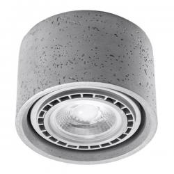 SOLLUX LAMPA NATYNKOWA/PLAFON BASIC 1 beton SL.0881