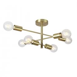 ATLANTICO  PNC-5679-6-GD  LAMPA SUFITOWA  ITALUX