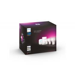 8719514340107  ZESTAW STARTOWY 3xGU10 2000-6500K  RGB +...
